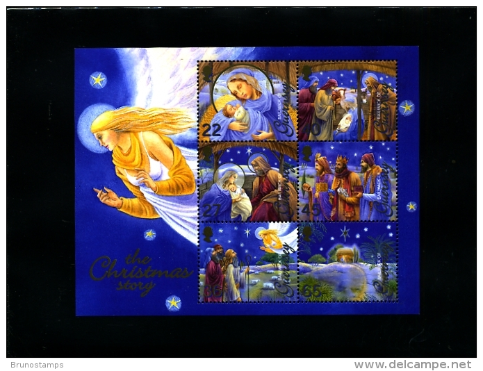 GUERNSEY - 2002  CHRISTMAS   MS   MINT NH - Guernesey