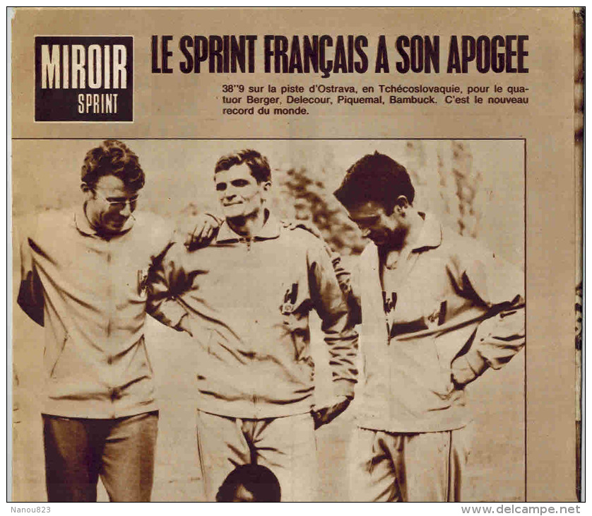 Miroir sprint n 1103 1967 pingeon basso stablinski for Miroir des secrets