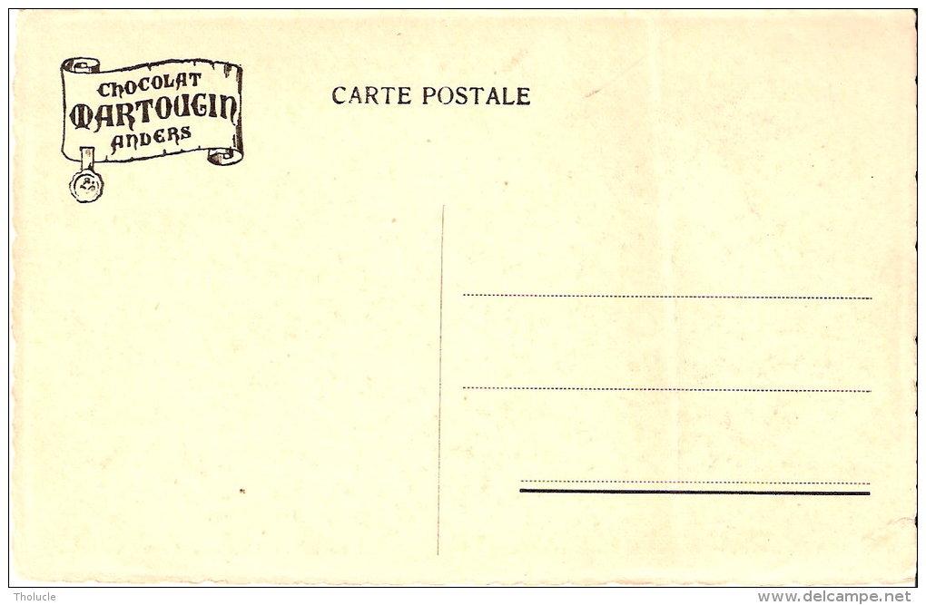 Publicité-Edition Chocolat Martougin Anvers-Bruxelles- Arcade Du Cinquantenaire - Werbepostkarten