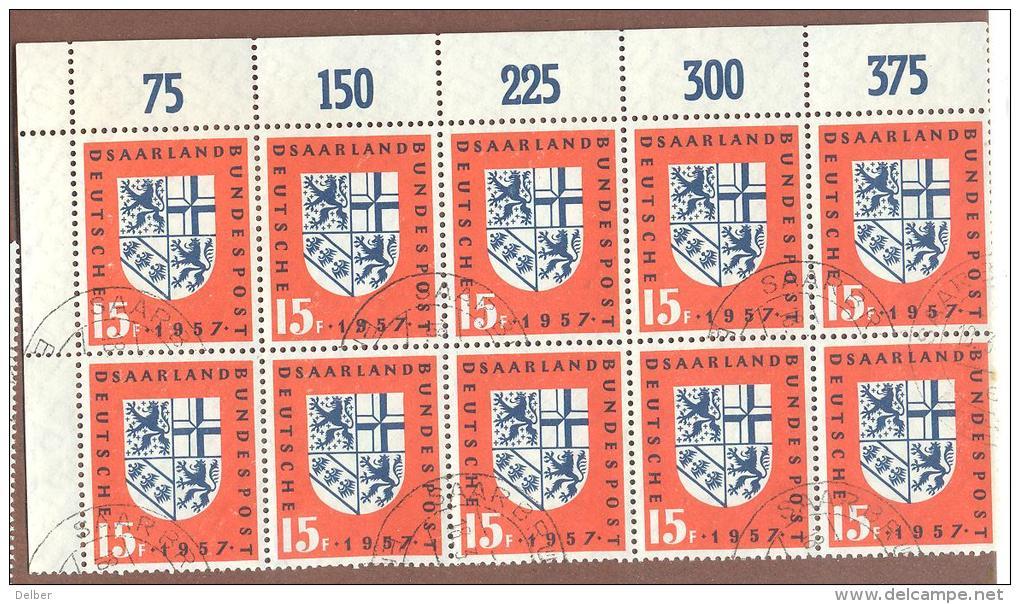 _D790: Mi.N°379: Blok V.10 - Sarre