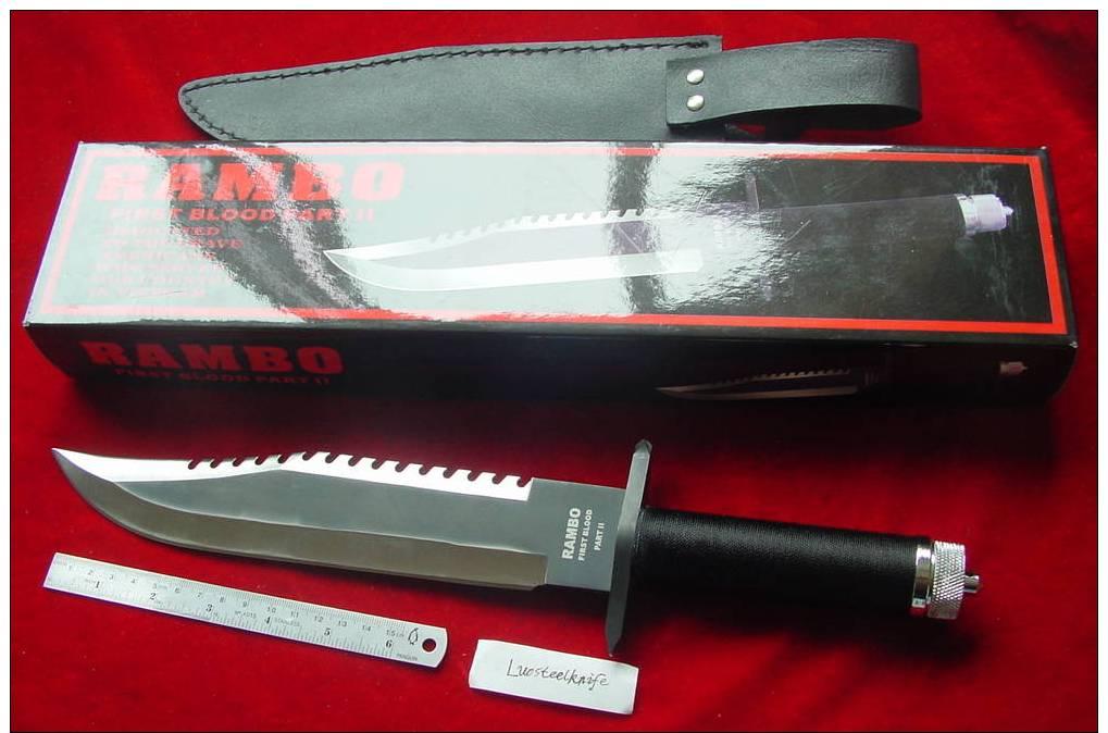 Rambo Knife Survival Kit KnivesSwords - Delcampe net