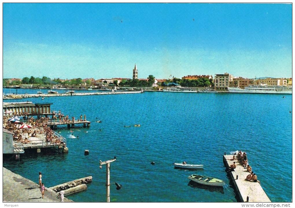 4245. Postal ZADAR (jogoslavia). Vista Del Puerto - Yugoslavia