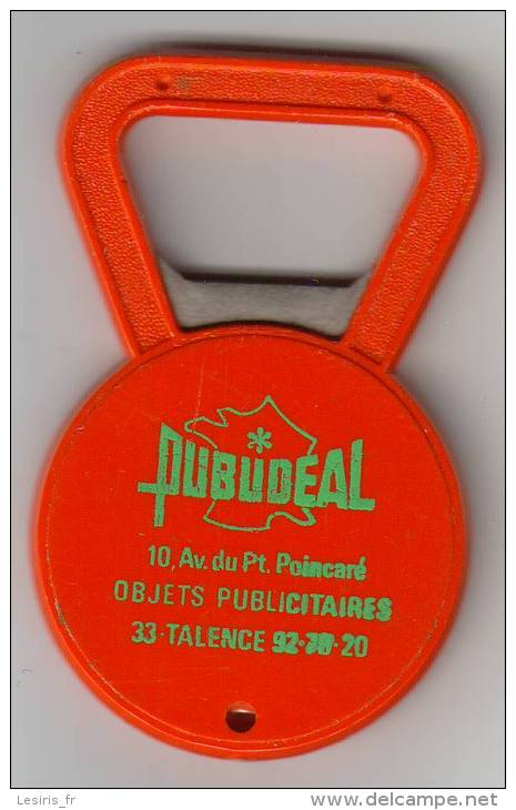 DECAPSULEUR - PUBUDEAL - TALENCE - ROUGE - Destapador/abrebotellas