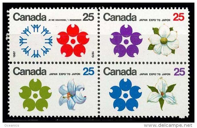 Canada (Scott No. 511a - Expo D'Osaka) [**] - 1952-.... Règne D'Elizabeth II