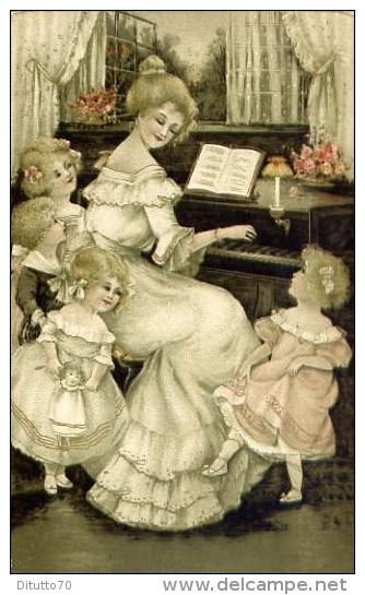 Donnina - Bambini - E Pianoforte - Formato Piccolo Non Viaggiata - Donne