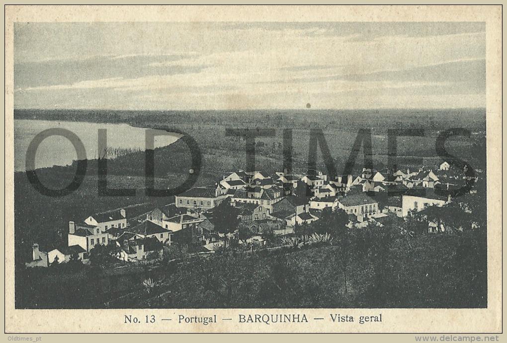 PORTUGAL - VILA NOVA DA BARQUINHA - VISTA GERAL - 1915 PC. - Santarem