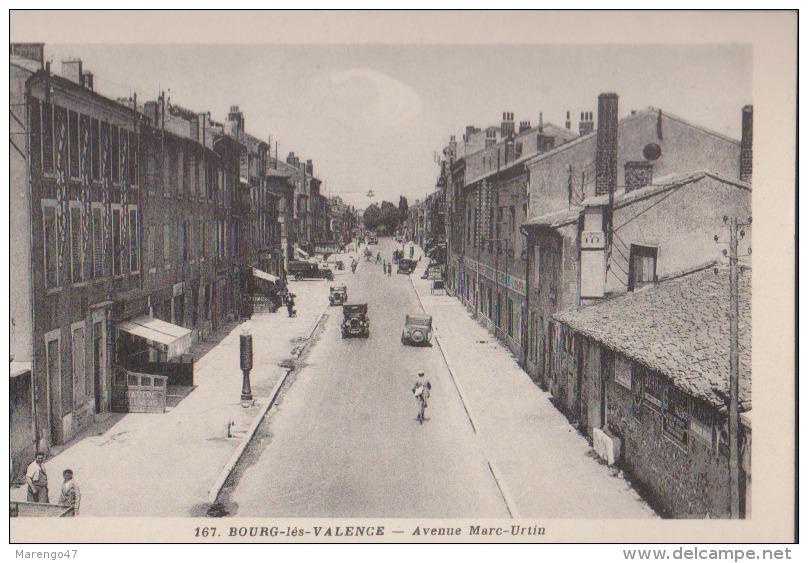 CPA:Bourg-les-Valence:Avenue Marc-Urtin - Frankreich