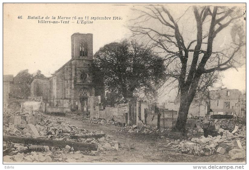 VILLERS Au VENT  L'église écrite  TTB - France