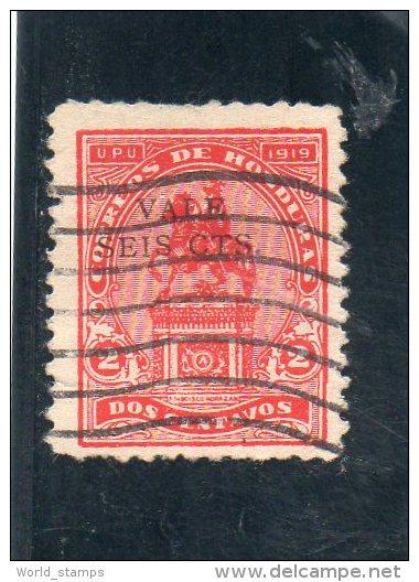 HONDURAS 1922-3 Y&T 171 O - Honduras