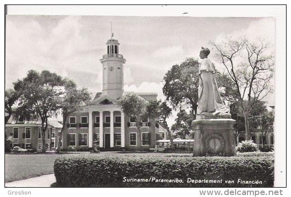 SURINAME PARAMARIBO DEPARTEMENT VEN FINANCIEN 30 - Surinam