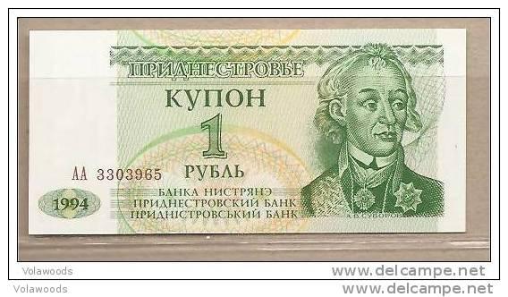 Transnistria - Banconota Non Circolata Da 1 Rublo P-19 - 1994 - Moldova