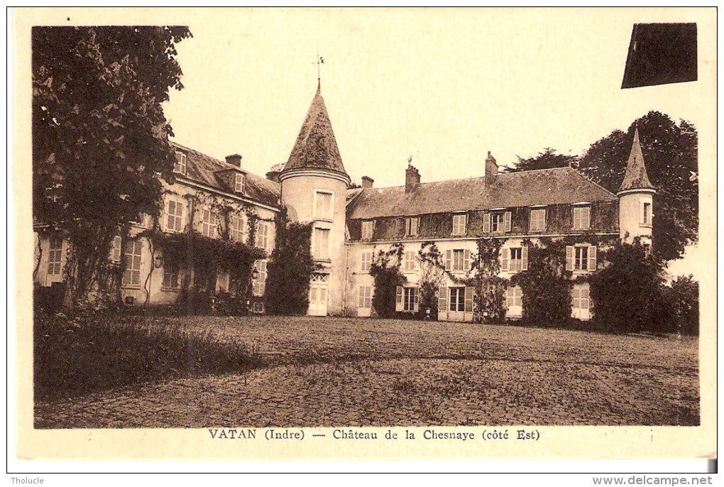 Guilly (Vatan-Issoudun-Indre)-Château De La Chesnaye-Où Est Mort Ferdinand De Lesseps-Edit. Guesnard, Tabac, Vatan - Issoudun