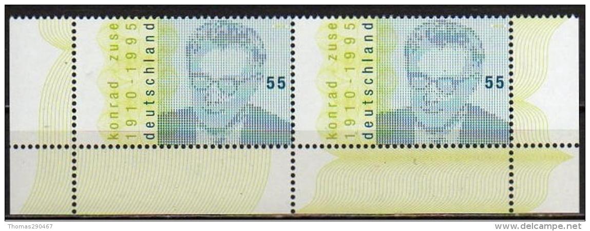 Bund Nr. 2802  Postfrisch  Eckrand - Unused Stamps