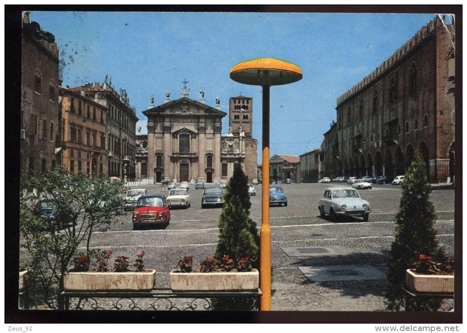 L5870 MANTOVA - PIAZZA SORDELLO, DUOMO E PALAZZO DUCALE - Mantova