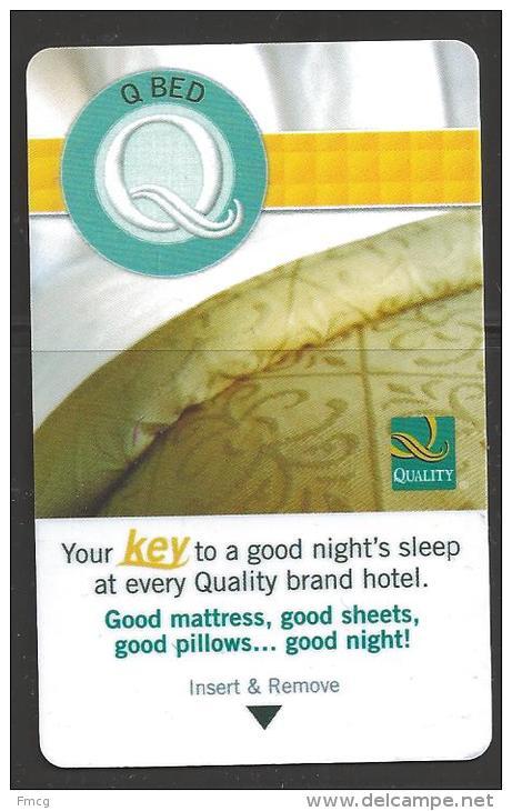 Hotel - Quality Inn, Wisconsin USA - Cartes D'hotel