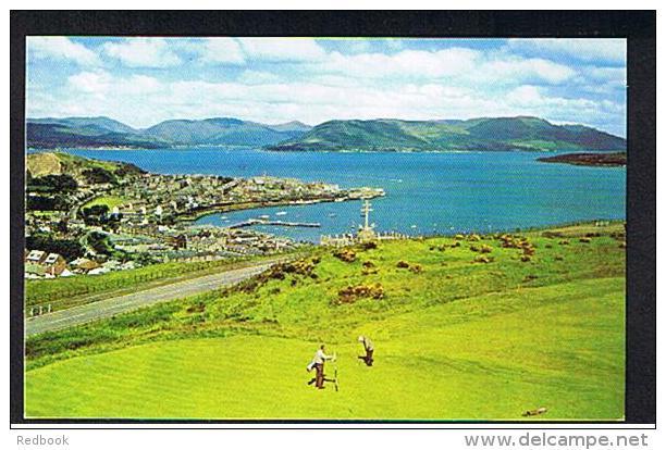 RB 939 - Postcard - Gourock Golf Course & Firth Of Clyde - Renfrewshire Scotland - Putting On Green - Renfrewshire