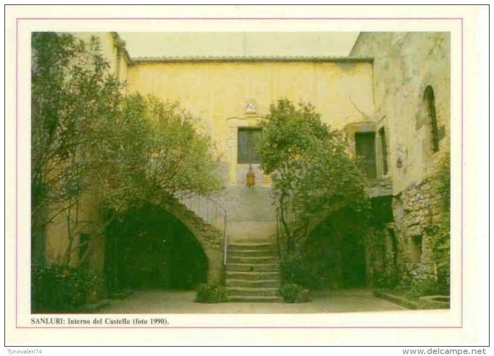 Sanluri (CA) - Interno Del Castello (foto 1990) - Italie