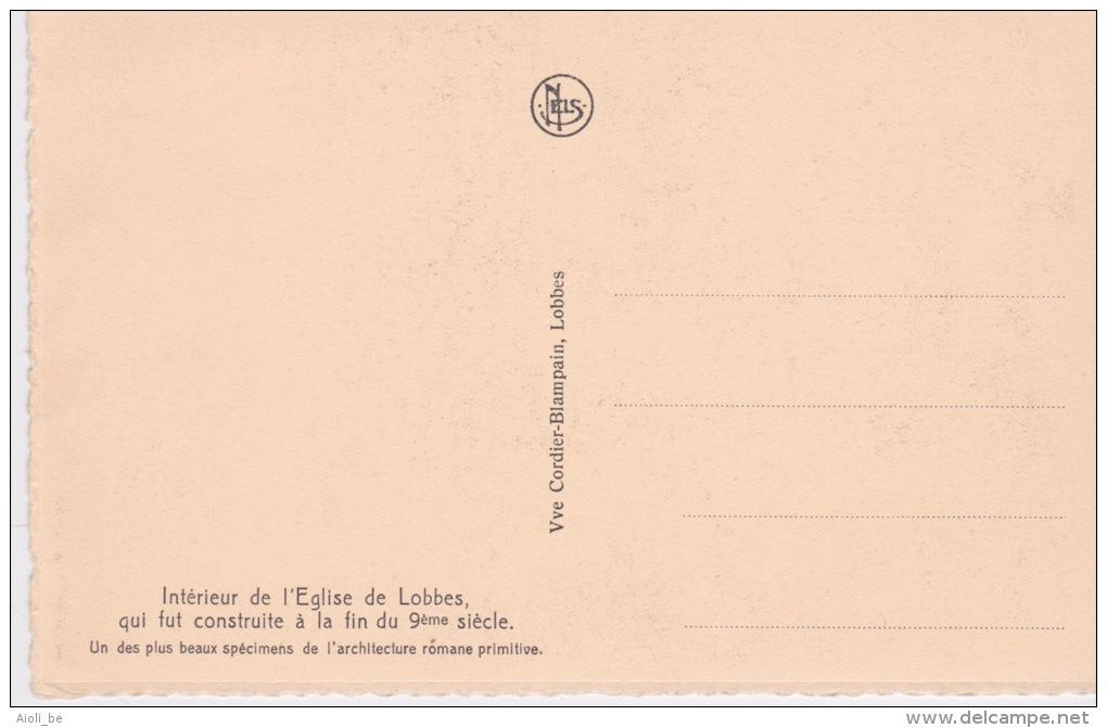 Intérieur De L'Eglise De Lobbes Qui Fut Construite à La Fin Du 9mème Siècle. - Lobbes