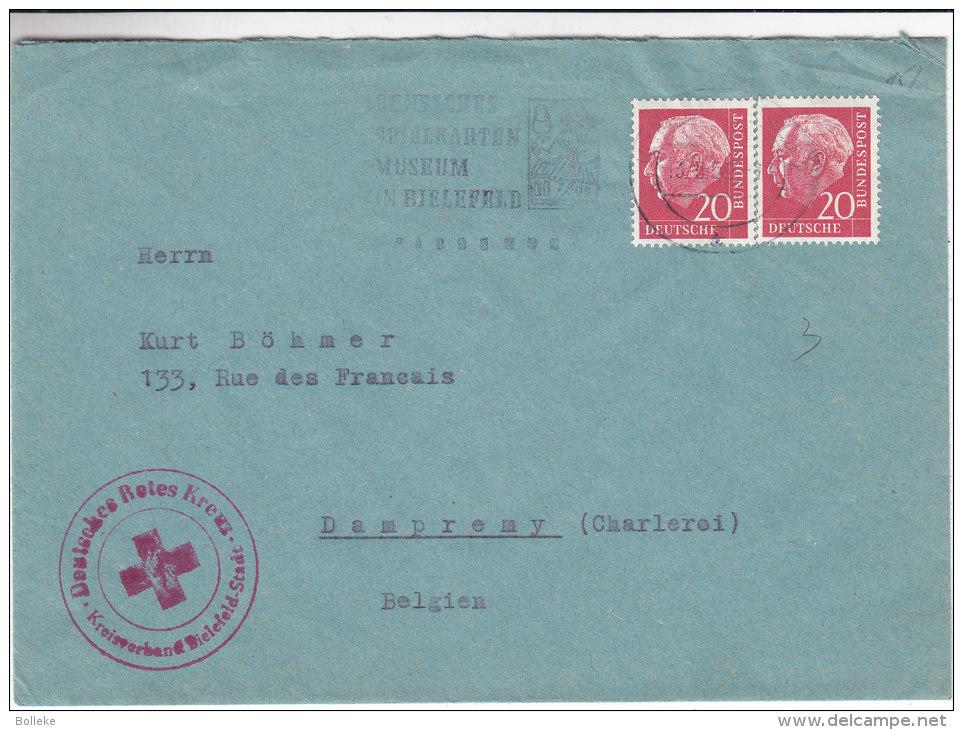 Croix Rouge - Musée - Allemagne - République Fédérale - Lettre De 1959 - BRD
