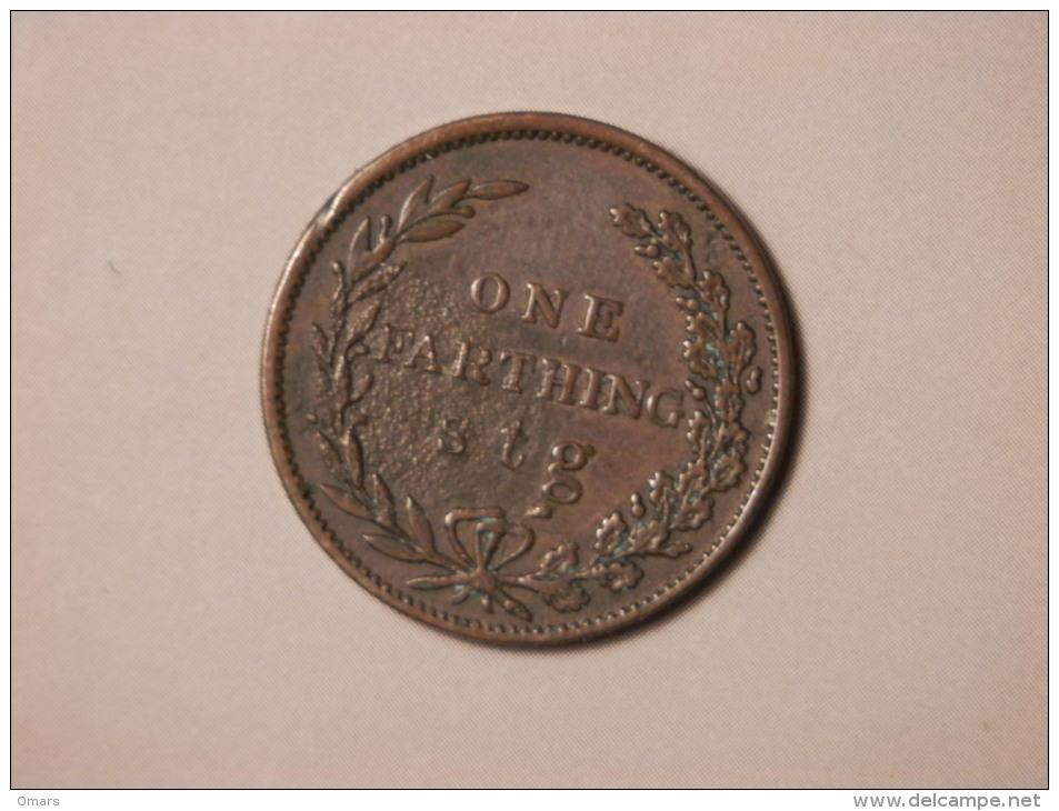 1 Farthing 1836 - Antigua & Barbuda
