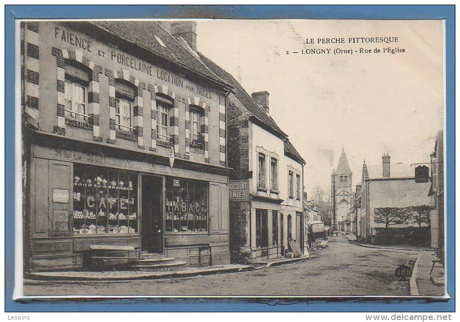 61 - LONGNY -- Rue De L'Eglise - Longny Au Perche