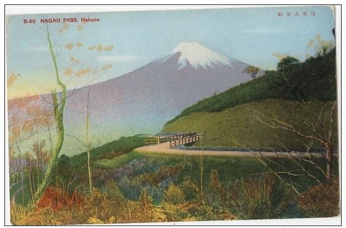 Pass Hakone Japan Nagao Pass Hakone Japan