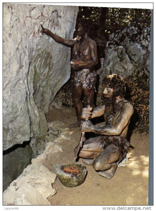 (555M) Homme De Cromagnon - Prehistoire - Histoire