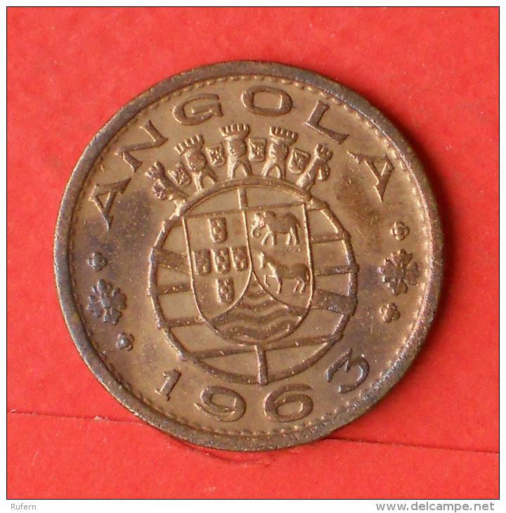 ANGOLA  1  ESCUDOS  1963   KM# 76  -    (Nº02855) - Angola