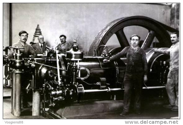 CARTE GANTOIS   Saint-dié Des Vosges Moteur à Gaz 1930 - Saint Die