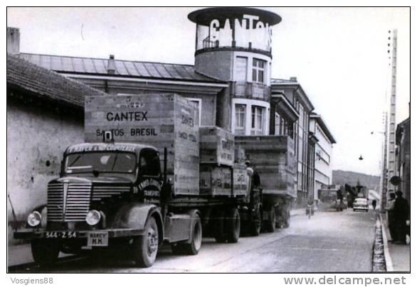 CARTE GANTOIS   Saint-dié Des Vosges Départ Du Matériel Pour Le Brésil 1957 - Saint Die