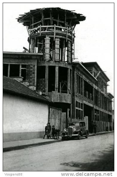 CARTE GANTOIS   Saint-dié Des Vosges Construction De La Tour D´entrée 1935 - Saint Die