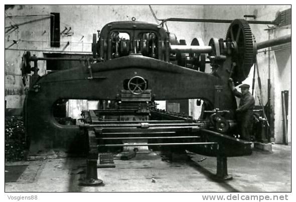 CARTE GANTOIS   Saint-dié Des Vosges Presse 120T 1930/1935 - Saint Die