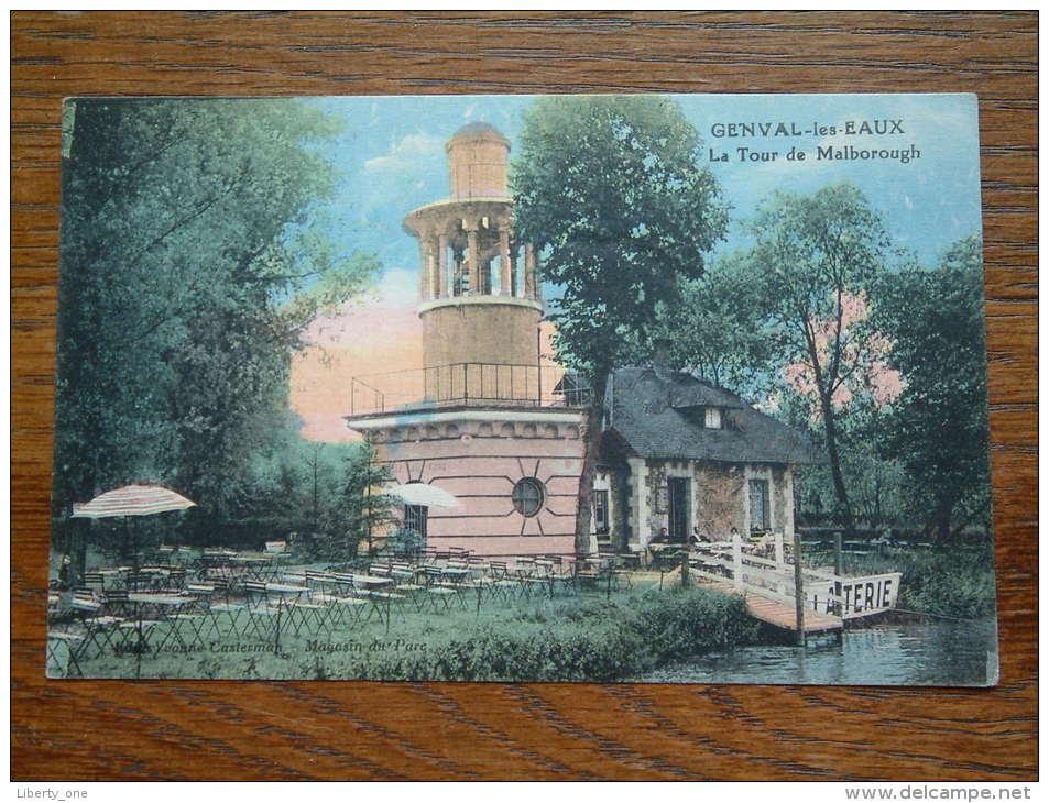 La Tour De Malborough Genval-Les-Eaux / Anno 1928 ( Zie Foto Voor Details ) !! - Rixensart