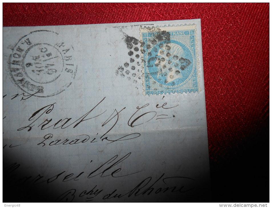 Lot Du 20.08.13_21_ Lettre   Avec N°21 Etoile 15 Superbe,variété - Marcophilie (Lettres)