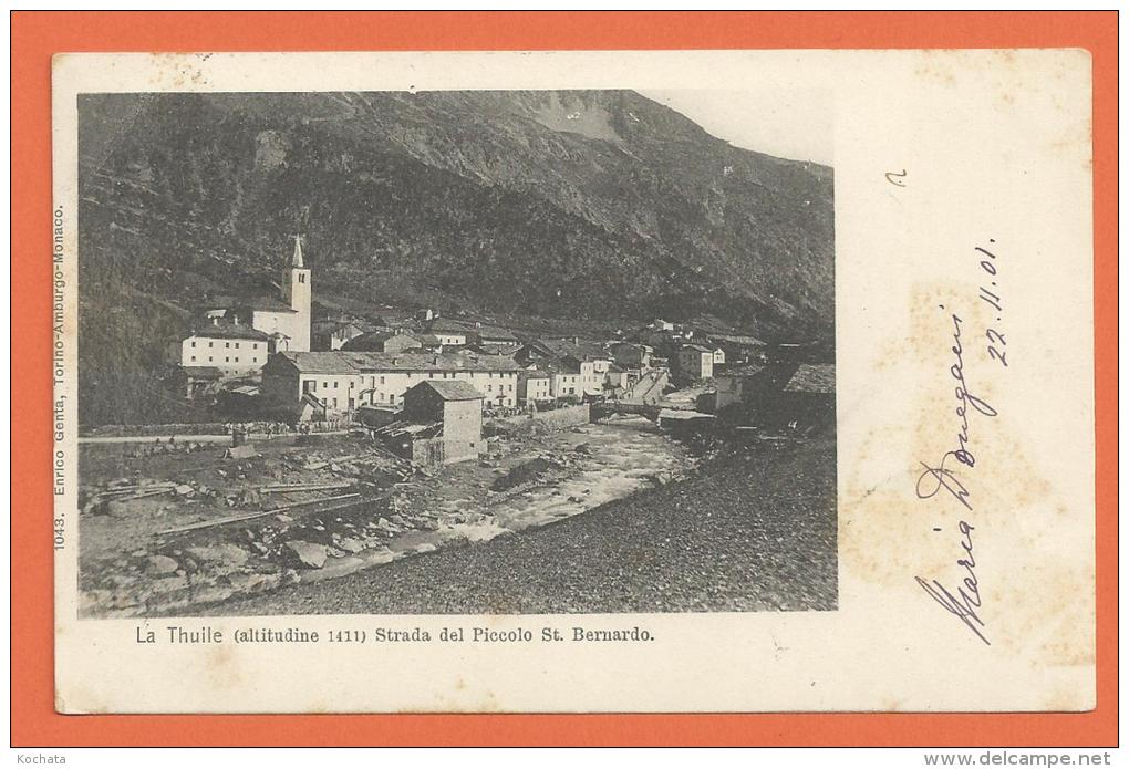 HA736, La Thuile , Starda Del Piccolo St. Bernardo, Route Du Petit St. Bernard, Précurseur, Circulée 1901 - Italie