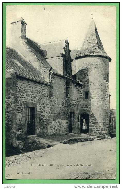 44 LE CROISIC - Ancien Manoir De Kervaudu - Le Croisic