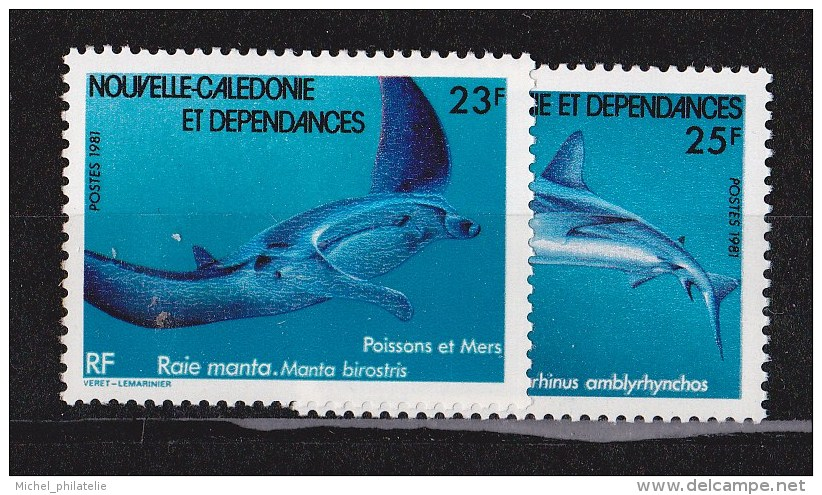 Nouvelle-Caledonie N°443 Et 444** - Nueva Caledonia