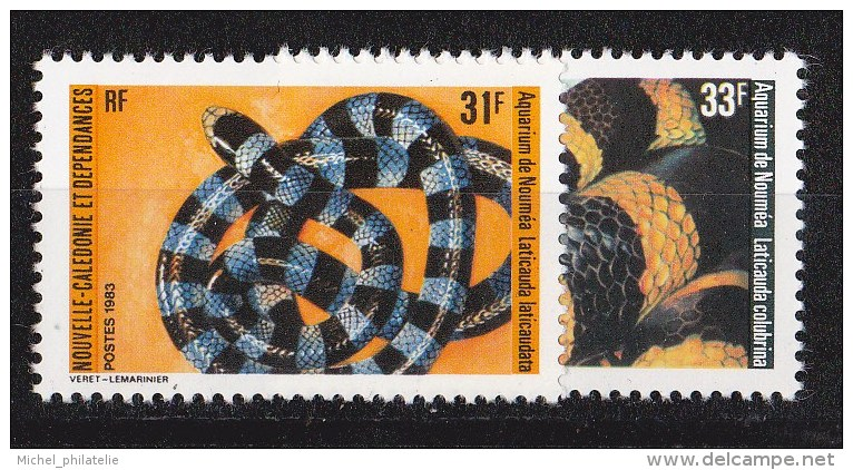 Nouvelle-Caledonie N°475 - 476** - Nueva Caledonia