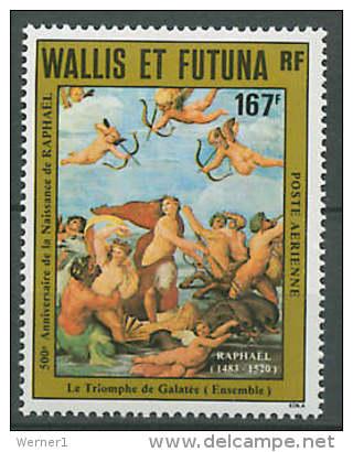 Wallis & Futuna 1983 Paintings Raphael - Raffael Stamp MNH - Arts