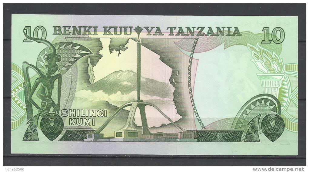 TANZANIE . 10 SHILLINGI . - Tanzanie