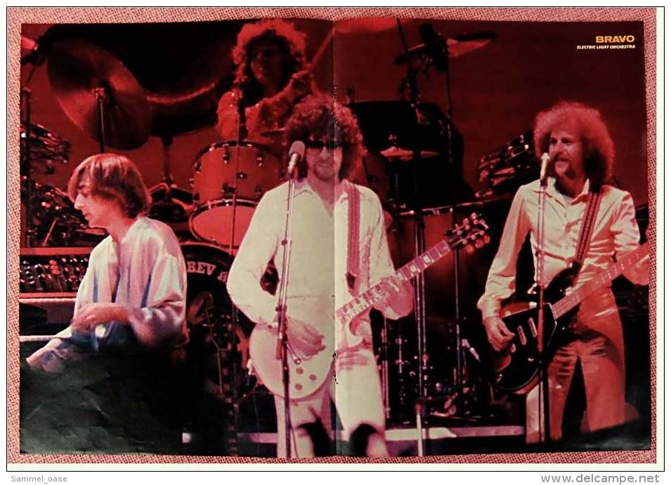 Kleines Musik Poster  -  Electric Light Orchestra  -  Von Bravo Ca. 1982 - Plakate & Poster