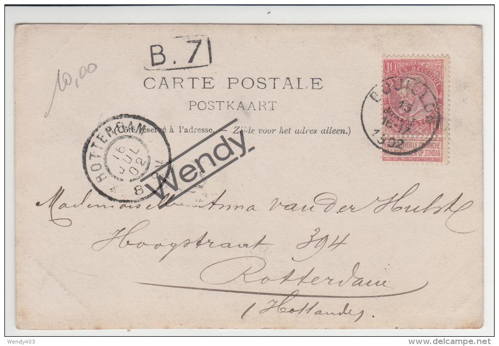 Dohan (originele Foto 1902 Met Boot) - Bouillon