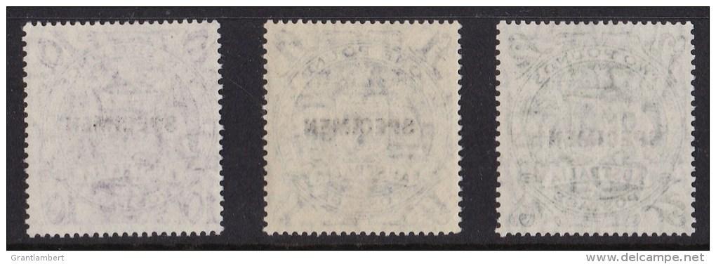 Australia 1948 Arms Specimen Set MNH - Mint Stamps