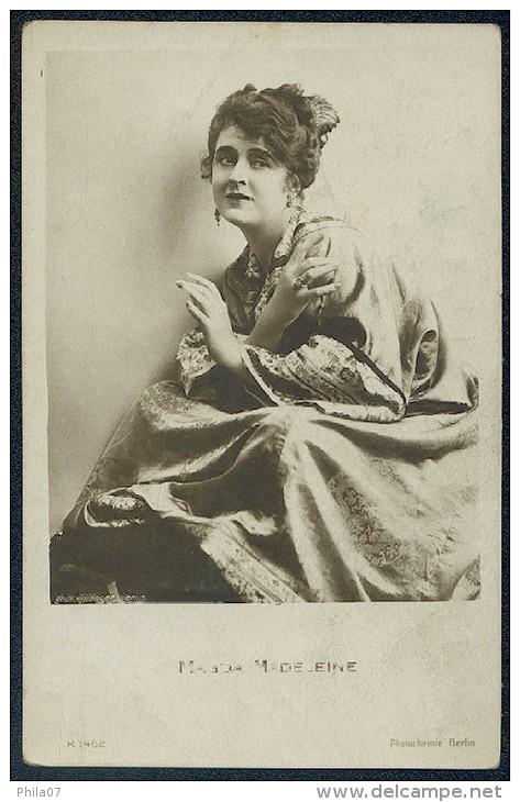Magda Madeleine / Phot. Willinger, Berlin / K 1462 - Schauspieler
