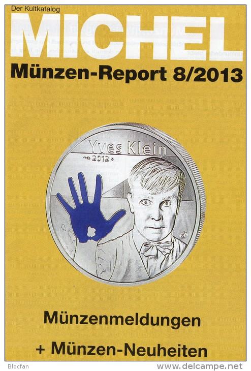 Briefmarken Rundschau MICHEL 8/2013 Neu 5€ New Stamps Of The World Catalogue Magacine Of Germany ISBN 4 194371 105009 - Deutsch
