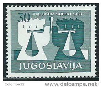 Jugoslavia 1959 Nuovo** - Mi.870  Yv.771 - 1945-1992 Repubblica Socialista Federale Di Jugoslavia