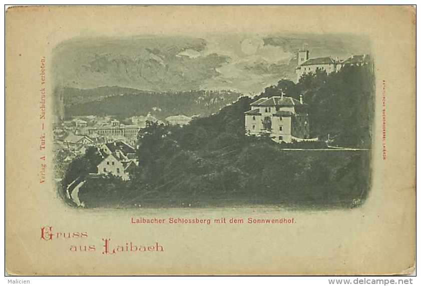 Pays Divers-slovénie -  Ref 740 - Laibach - Ljubljana - - Slovénie