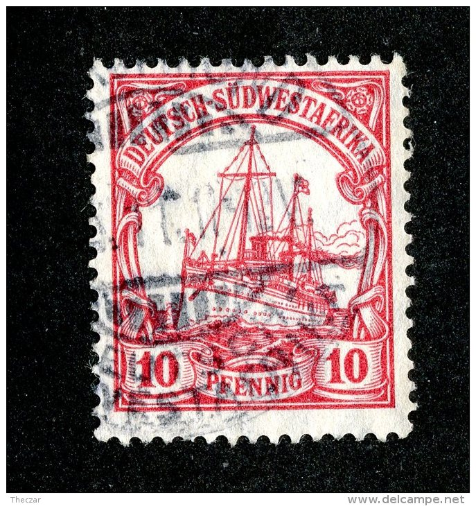 (1501)  S.W.A. 1906  Mi.26  (o)  Catalogue  € 1.80 - Colony: German South West Africa