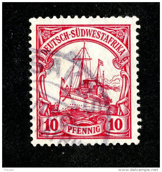 (1502)  S.W.A. 1906  Mi.26  (o)  Catalogue  € 1.80 - Colony: German South West Africa