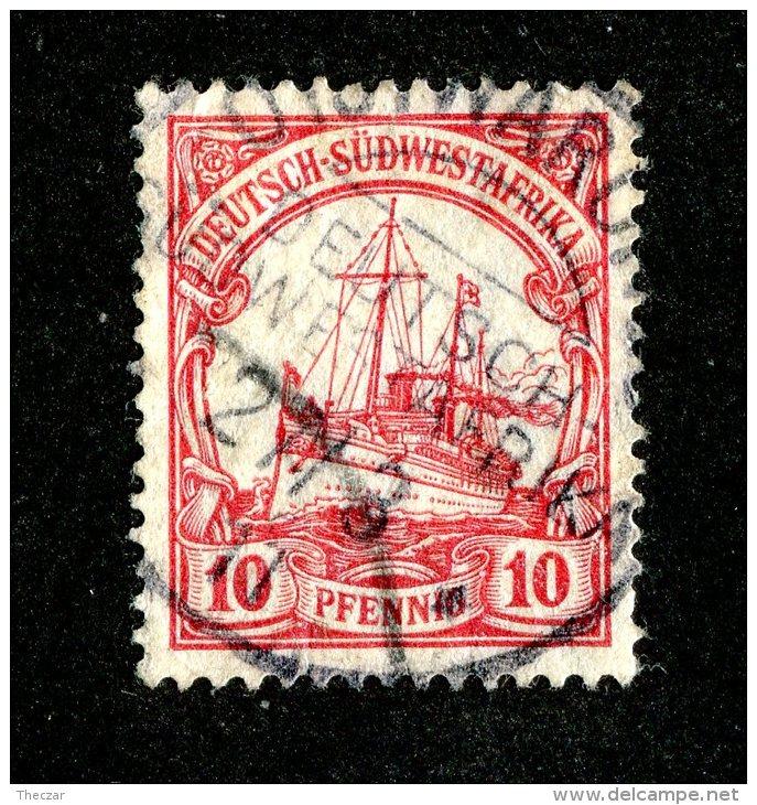 (1505)  S.W.A. 1906  Mi.26  (o)  Catalogue  € 1.80 - Colony: German South West Africa